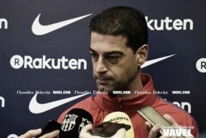 """Gerard López: """"Ha sido justo y nos vamos contentos"""""""