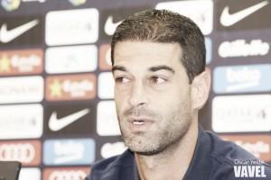 """Gerard López: """"Los jugadores quieren que el partido llegue ya"""""""