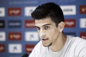 """Gerard Moreno, """"estamos hablando sobre mi renovación y estoy contento, se está haciendo bien"""""""