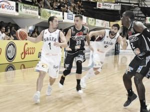 Salta Basket revivió de las cenizas en el estadio Vicente Rosales