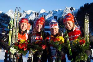 Biathlon, a Le Grand Bornand rivincita Germania in staffetta