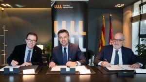 Acuerdo con el Institut Ramon Llull
