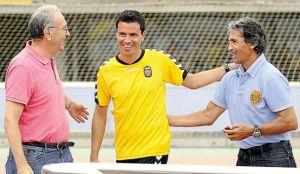 """Juani Castillo: """"Las Palmas luchará por el ascenso directo""""."""