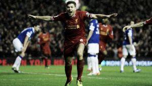 Gerrard y el Everton se citan por última vez