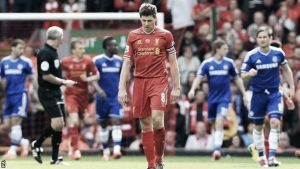 A year on: Liverpool 0-2 Chelsea