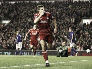 Gerrard ranks Everton hat-trick amongst happiest Anfield memories