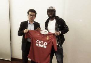 Gervinho signs for Chinese club Hebei China Fortune