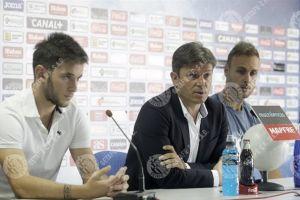 Cala y Medrán, presentados como nuevos jugadores del Getafe