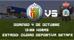 Getafe B - CF Talavera: solo vale la victoria