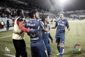 Getafe - Rayo Vallecano: puntuaciones del Getafe, jornada 13 de la Liga BBVA