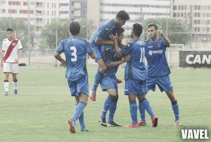 Fotos e imágenes del Getafe B 2 - 0 Rayo Vallecano B, grupo 2 de Segunda Division B