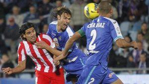 Getafe y Atlético de Madrid, continuos cambios de cromos