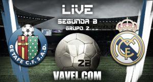 Getafe B - Real Madrid Castilla en directo