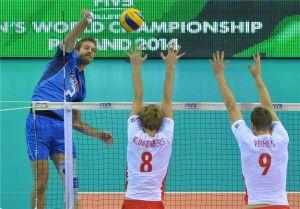 Volley, Mondiali Polonia 2014: finalmente grande Italia, Belgio al tappeto