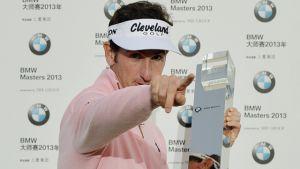 Gonzalo Fernández-Castaño acaba con el maleficio del golf español en 2013