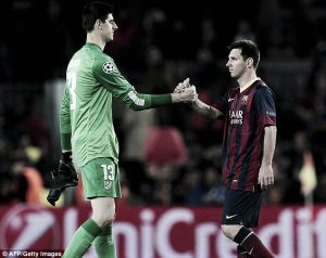 Messi vs Courtois, ¿fin a la pesadilla?