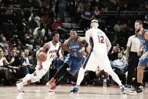 Los Pistons, sin Drummond, siguen haciendo de 'The Palace' un fortín