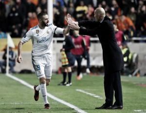 """Zidane se mantém confiante após goleada: """"Sabemos que as coisas vão mudar"""""""