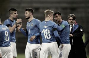 Italia U-21 muestra sus credenciales ante Serbia