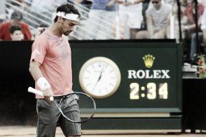 ATP Roma: Fognini lotta ma cede a Berdych, avanti Federer, Nadal e Djokovic. Ritiro per Murray
