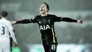 Eriksen prende per mano il Tottenham e lo porta al 2-1 sul campo dello Swansea