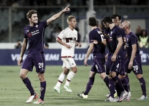 Fiorentina 2-0 AC Milan: Ely sees red as Milan sink to an opening day defeat