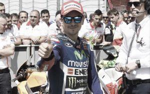 """Jorge Lorenzo: """"Estoy contento, pero lo estaría más de haber conseguido ganar"""""""