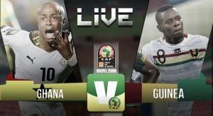Resultado Ghana - Guinea CAN 2015(3-0)