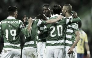 Sporting 'esmaga' Arouca