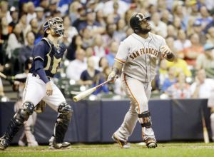 A Bad Brew - Giants Drop Two out of Three In Milwaukee