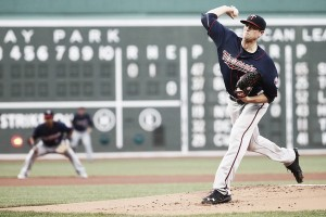 Kyle Gibson cools off Boston Red Sox hot bats as Minnesota Twins win 2-1