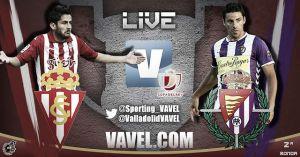 Copa del Rey: Sporting de Gijón - Real Valladolid en directo online