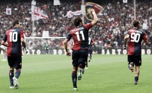 El Genoa se aleja del fuego por la cara