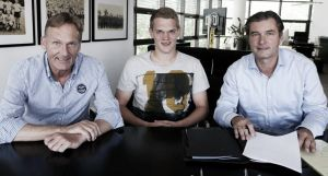 Matthias Ginter, nuevo jugador del Borussia Dortmund