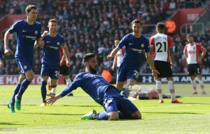 Southampton 2-3 Chelsea: Three goals in ten minutes deal blow to Southampton's survival hopes
