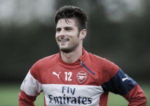Arsenal: Giroud torna ad allenarsi, Ozil no