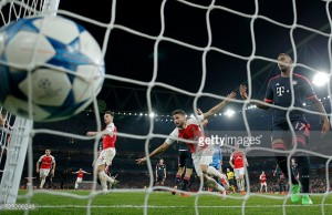 A look back at Arsenal's previous encounters with Bayern Munich in the Champions League