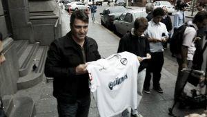 Blas Giunta fue presentado como nuevo DT de Quilmes