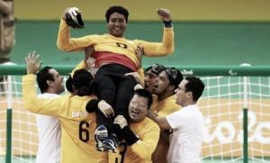 Seleção Brasileira de Goalball vence Suécia e estreia com vitória nos Jogos Paralímpicos
