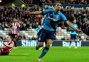 Sunderland 1-2 Stoke : Muniesa's two goals knocks out last season's finalists