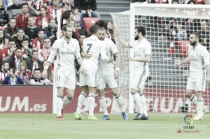 Liga, il Real Madrid espugna San Mames: 2-1 in casa dell'Athletic Bilbao