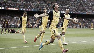De la mano de Godín, el Atlético de Madrid es campeón de liga
