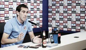 """Godín: """"El único premio objetivo es el de campeón de Liga y ese es el Atlético"""""""