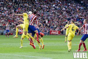 El Villarreal no puede con el Atlético de Madrid