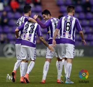 Real Valladolid - CD Numancia: puntuaciones del Real Valladolid, jornada 26