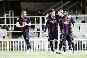 El Barça B se reconcilia con el gol