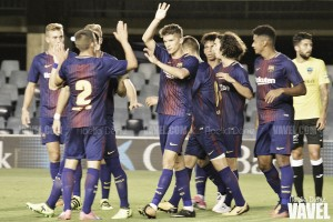 El Barça B suma buenas sensaciones y vence al Lleida