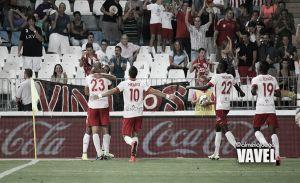 El gol del Almería, mejor jugada de la jornada según la LFP