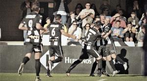 El FC Cartagena vuelve a sonreír a costa del Real Jaén