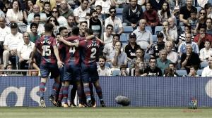 El Levante celebra su cumpleaños con un empate en el Bernabeu